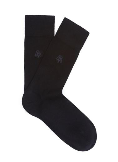 Mavi Erkek  Uzun Çorap 090250-26341 Siyah